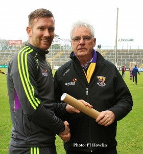 PJ Banville makes 100th Wexford appearance