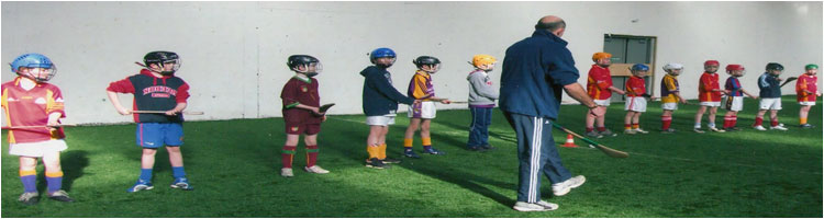 Underage Hurling with George O'Connor