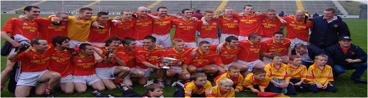 Horeswood 2005 Wexford Senior Football Champions